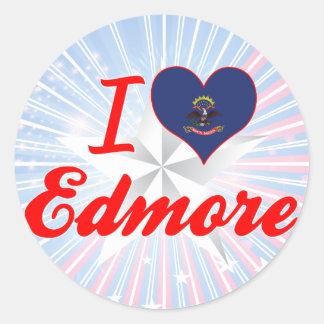I Love Edmore, North Dakota Sticker