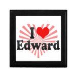 I love Edward Jewelry Boxes