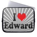 I love Edward Laptop Sleeve