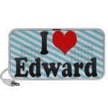 I love Edward Travel Speakers
