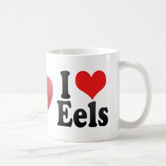 I Love Eels Coffee Mug