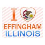 I Love Effingham, IL Postcard