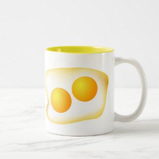 I Love Eggs Two-Tone Mug