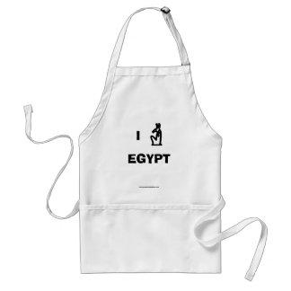 I Love Egypt Apron