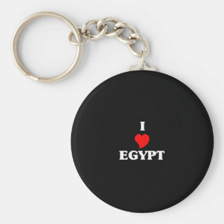 I Love Egypt Key Ring