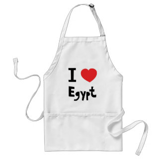 I love Egypt Standard Apron