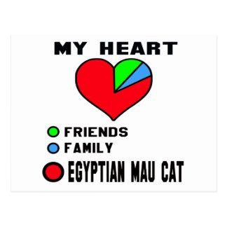 I love Egyptian Mau. Postcard