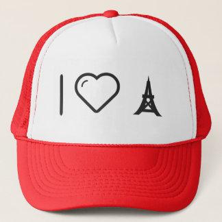 I Love Eiffels Trucker Hat