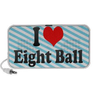 I love Eight Ball Notebook Speaker