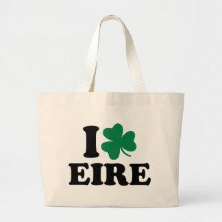 I love Eire Ireland Tote Bags