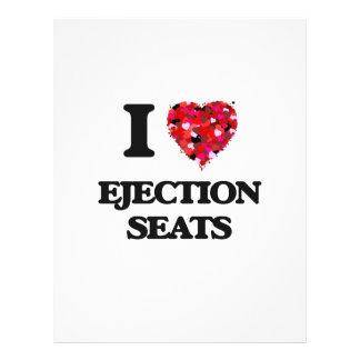 I love Ejection Seats 21.5 Cm X 28 Cm Flyer