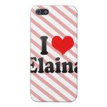 I love Elaina Cover For iPhone 5