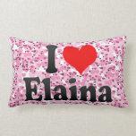 I love Elaina Pillow