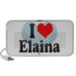 I love Elaina Travelling Speaker