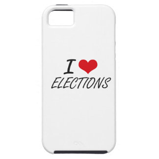 I love ELECTIONS iPhone 5 Cover