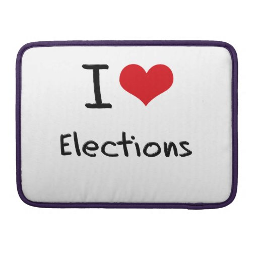I love Elections Sleeves For MacBook Pro
