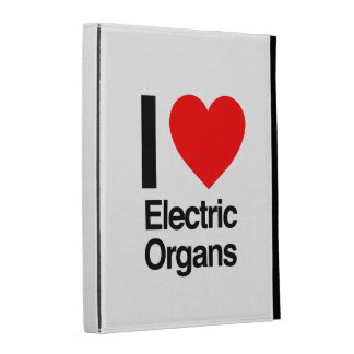i love electric organs iPad case
