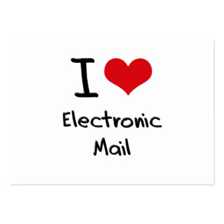 I love Electronic Mail Business Cards