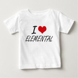 I love ELEMENTAL Infant T-Shirt