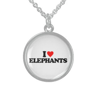 I LOVE ELEPHANTS CUSTOM JEWELRY