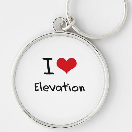 I love Elevation Keychain