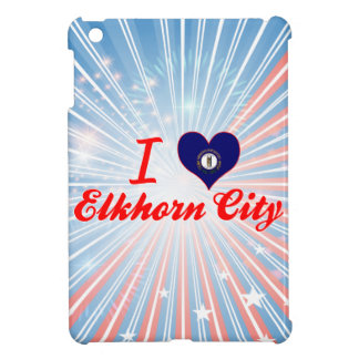 I Love Elkhorn City, Kentucky iPad Mini Covers