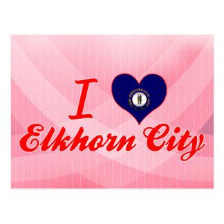 I Love Elkhorn City, Kentucky Postcards