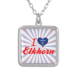 I Love Elkhorn, Wisconsin Custom Jewelry
