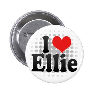 I Love Ellie Pinback Button