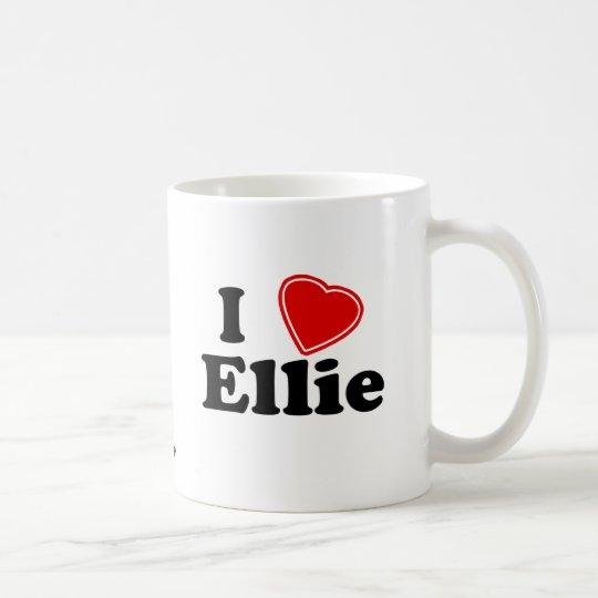 I Love Ellie Coffee Mug