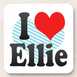 I love Ellie Drink Coaster