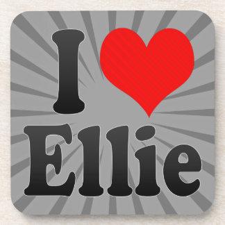 I love Ellie Drink Coasters