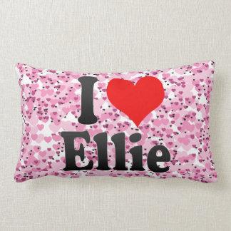I love Ellie Throw Pillows