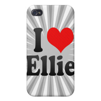I love Ellie Covers For iPhone 4