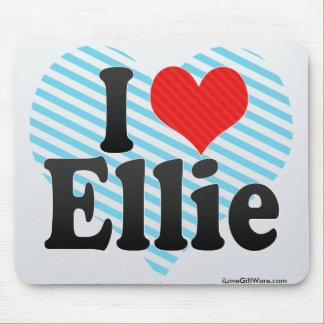 I Love Ellie Mouse Pads