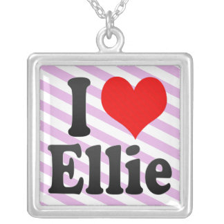 I love Ellie Personalized Necklace