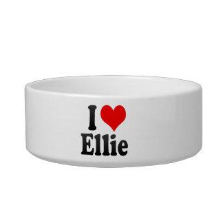 I love Ellie Cat Food Bowl