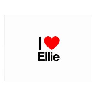 i love ellie postcards