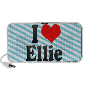 I love Ellie Portable Speakers