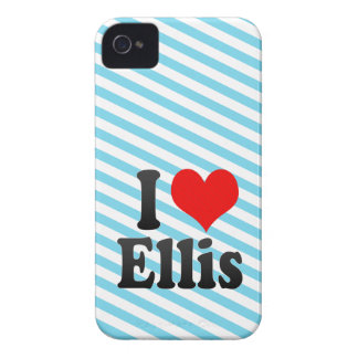 I love Ellis iPhone 4 Case-Mate Cases