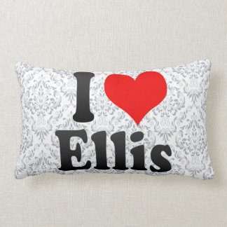 I love Ellis Throw Pillow