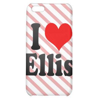 I love Ellis Cover For iPhone 5C