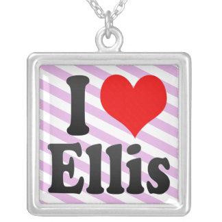 I love Ellis Personalized Necklace