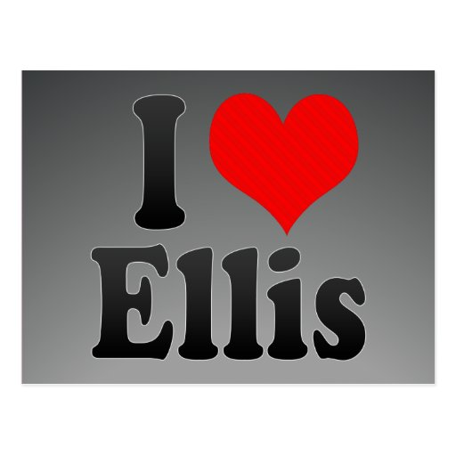 I love Ellis Post Cards