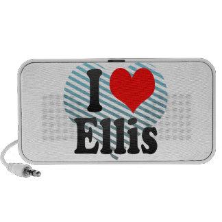 I love Ellis Mp3 Speakers