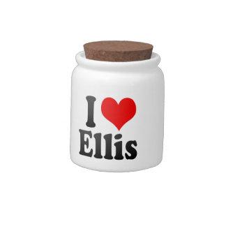 I love Ellis Candy Jar