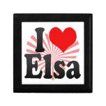 I love Elsa Keepsake Box