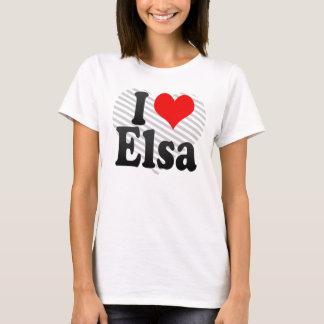 I love Elsa T-Shirt