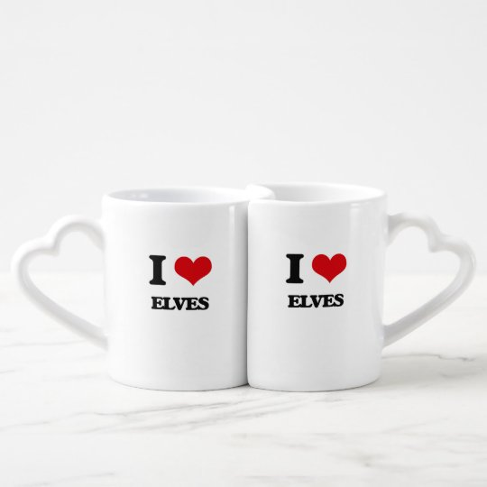 I love Elves Coffee Mug Set