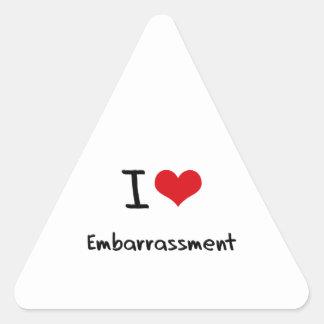 I love Embarrassment Stickers